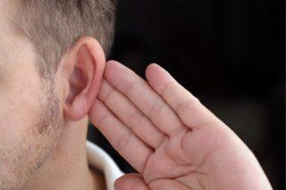 Man Listening Intently